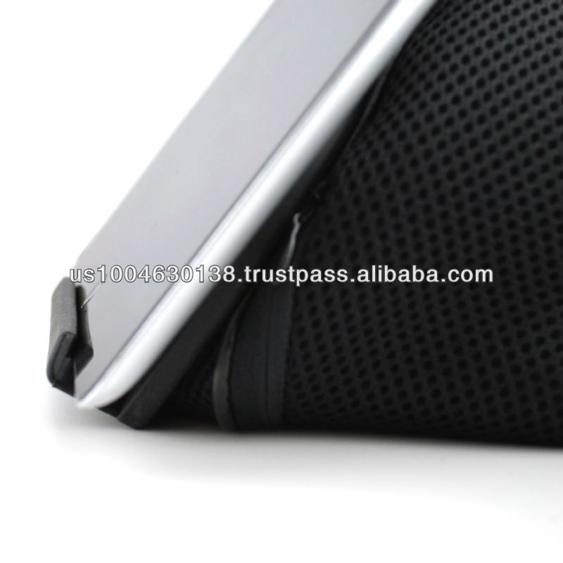 iProp Universal Tablet Bean Bag Stand for iPad and most other tablets, great as a bed stand or lap stand, travel stand