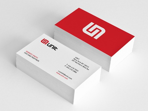 High quality embossed business cards& Elegant business