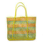 Alta qualidade best selling colorido de bambu saco de compras com alça do vietnã