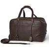 100% Full Grain Genuine Leather Travel Bag