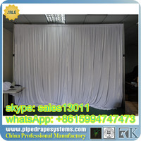 highly welcomed portable photo booth pipe and drape booth