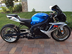 2012 Suzuki GSXR750 750 for sale with low miles