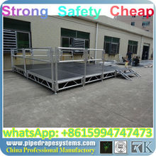 BEST aluminum extrusion for railing,aluminum plywood moving stage