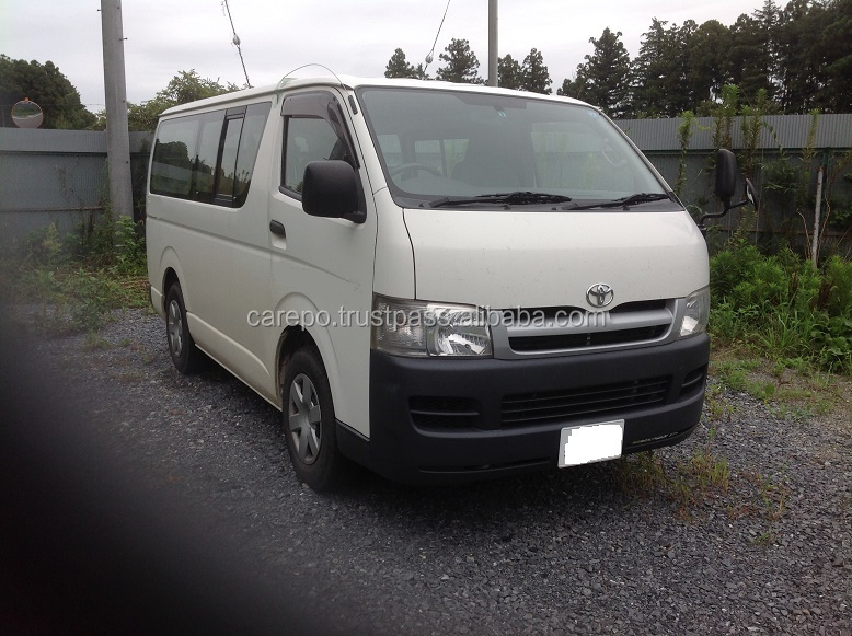 Creative Japanese Used TOYOTA HIACE SUPER GL 2007 VANS For Sale