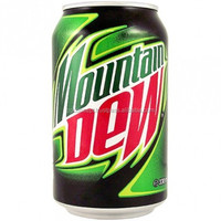 Mountain Dew Soft Drink 330ml can / Wholesale Soft Drinks
