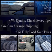 Used tyres - part worn tyres 295/80 R22.5