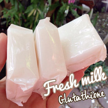 Goat Milk and Glutathione Soap 60-85g.