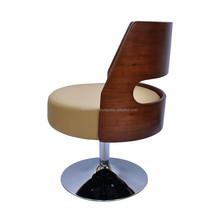 Anton Lessi Lounge Chair/Modern Fashion Office Chair/Swivel Wood Chair X6014AJ