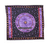 Purple Black Astrology Zodiac Tapestry Wall Mandla Art Tie Beach Throw Hanging Tapestries Hippie Manufacturer In India Jaipur