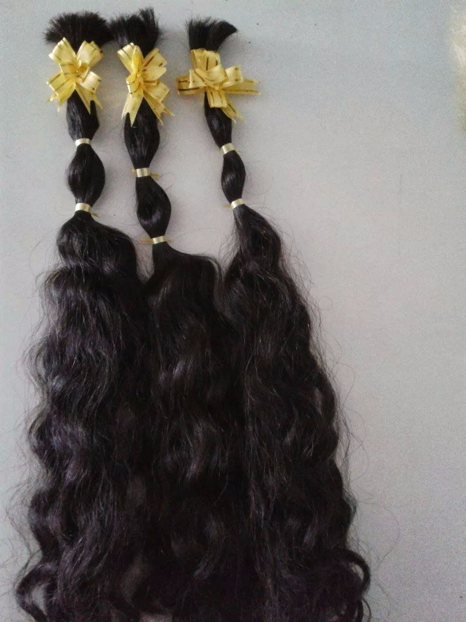 Raw Unprocessed Virgin Indian Hair Virgin Human Hair Extension100