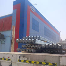 Al Ain UAE Colored Steel Construction Fencing Hoarding Manufacturer- DANA STEEL