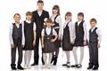 Projetos uniformes uniformes das crianças do ensino fundamental