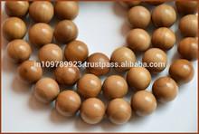 Sandal-wood-japa-beads / sándalo perlas / perlas para hacer malas