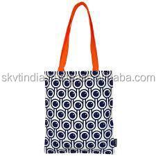 screen printed Digital printing cotton shopping bag