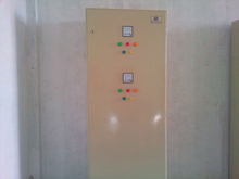 POWER FACTOR UNIT , LT PANELS , DISTRIBUTION BOARDS LT PANEL 4WAY AND 8 WAY , METER SECURITY BOX , BUS BAR DUCTS