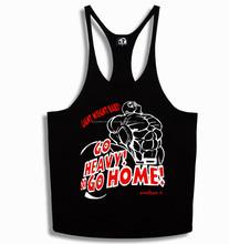 Stringer Vest GO HEAVY OR GO HOME!