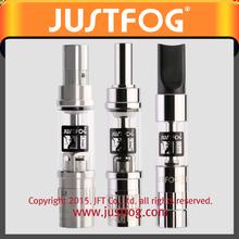 2015 Best Selling new arrival e cigarette 1453 clearomizer e cigarette wholesale JUSTFOG e cigarette China