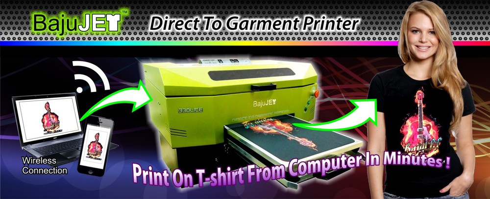 Dtg printer direct to garment printer t shirt printing for Direct to garment t shirts