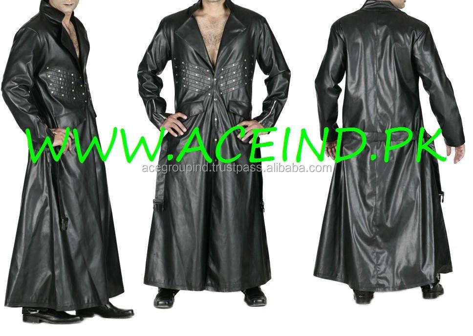 White Coats For Women Women Long Leather Coat Men