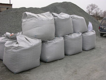 Crushed stone in big bags