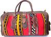 Gorgeous Moroccan Handmade Genuine Leather Kilim Ladies Bag