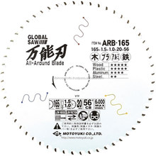 Various types of sharp Global Saw saw blade for dismantling and renovations