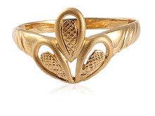 GORGEOUS RING IN SOLID CERTIFIED HALLMARK 22KT GOLD AT WHOLESALE PRICE