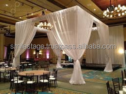 Hot sale telescopic pipe and drape/event decoration inflatable