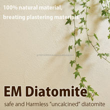 Natural and Premium diatomite wall paint interior wall material with uncalcined diatomite made in Japan