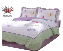New product baby quilt, soft kids quilt, warm cotton quilt kantha 100% cotton bed sheet fashion bedroom set luxury quilted
