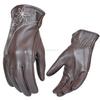 Motor Bike Leather Summer Gloves