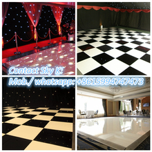 RK heap parquet flooring used for wedding, party, event