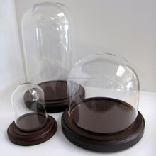 Glass Dome, Decorative Glass Dome, Glass Belljar Dome