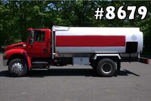 8679 - INTERNATIONAL TRANSTECH FUEL TANKER TRUCK; 2800 GAL