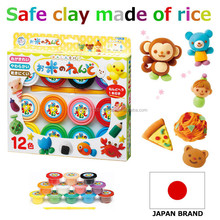 High-security wholesale polymer clay High quality colorful safe rice clay for Japanese toy stores with Colorful