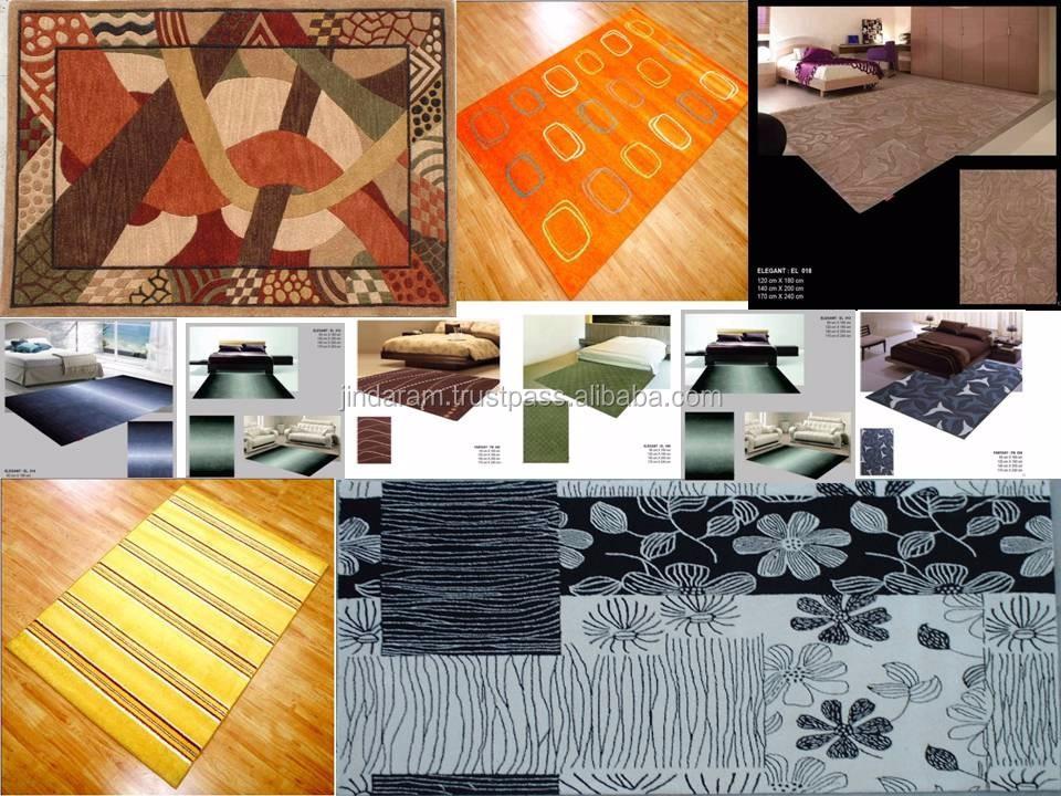 Decorative handtufted carpets for homes.JPG