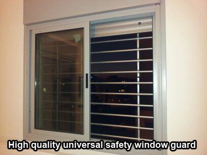 Qiuck Release Aluminum Window Guard 4 Bars Kids Saver