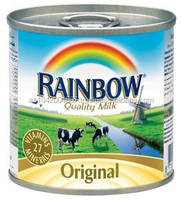 1. Rainbow Evaporated Milk