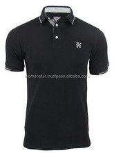 custom 100% polyester sublimated men polo t shirt