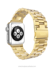 HOCO Original Watch Band Stainless Steel Strap Buckle - Black, Silver, Rose & Gold 38mm / 42mm Slim fit 2015 FOR iwatch