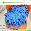 Nitrile butadiene rubber without powder blue disposable nitrile gloves factory
