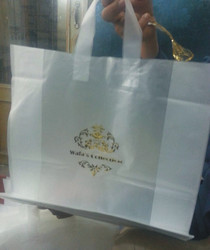 Shopping Bag With Stamp hot Foil