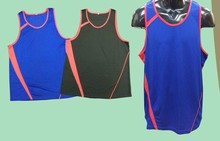 Custom Designed Running Sports Singlets Running Uniform