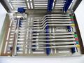 Elevación de seno kit recta off set osteotomes cóncava mead mallet cassette/de alta calidad de instrumentos dentales