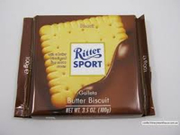 Ritter Sport with Biscuit 100g