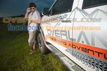 4X4 Accessories SIDE RAIL for Mitsubishi Pajero