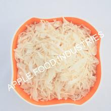 Branco desidratado da cebola em flocos( croquete)