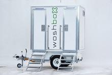 Woshbox Mark V Portable Toilet Trailer