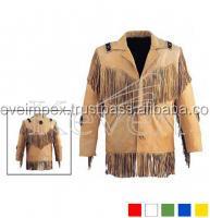 Estilo occidental chaquetas, / chaqueta, occidental lleva, chaqueta de cuero de vaca