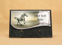 Personalized plaque for memorial souvenirs - Weeding decorations